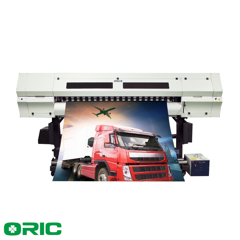 Oric 1 8m UV Roll to Roll Printer with 8 GH2220 printheads
