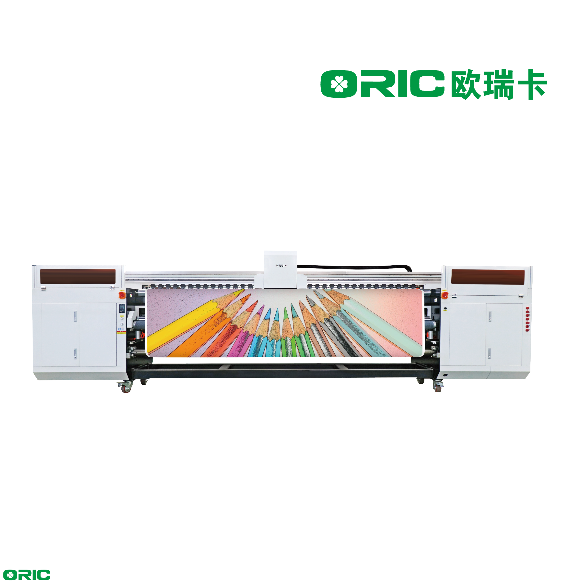 OR-3200UV Pro 3.2m UV Roll To Roll Printer With Six Ricoh Gen5 Print Heads