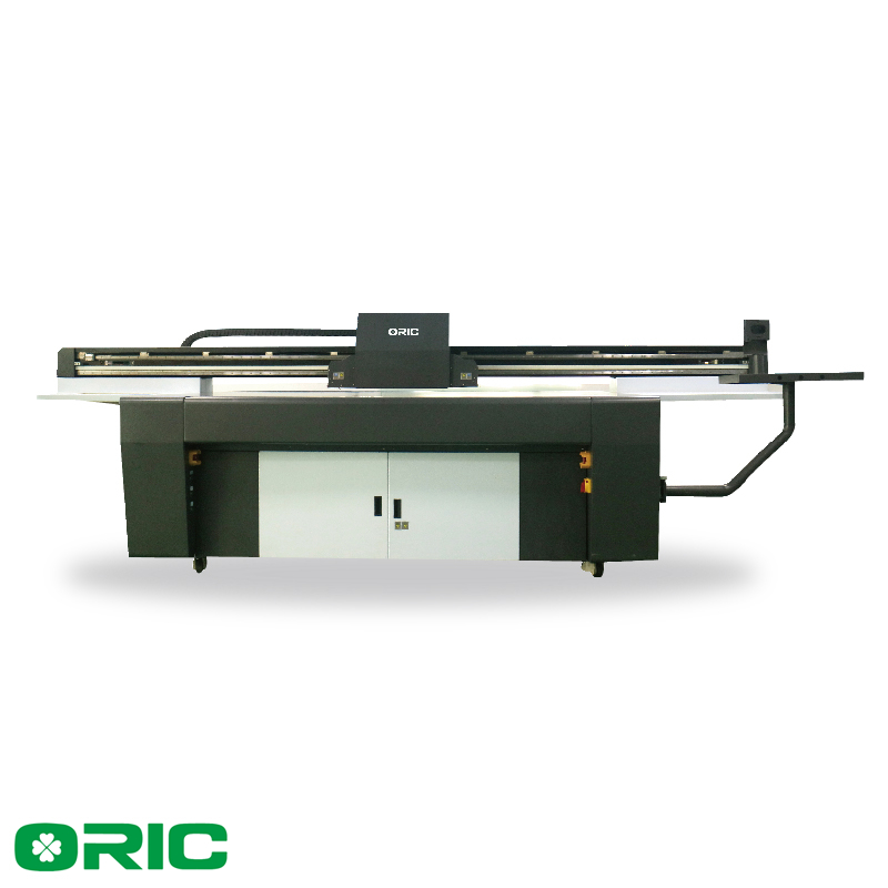 Oric LED UV Flatbed Printing Machine for glass with ricoh Gen5