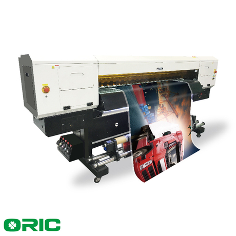 OR18-G5-UV2 1.8m UV Roll To Roll Printer With Double Gen5 Print Heads